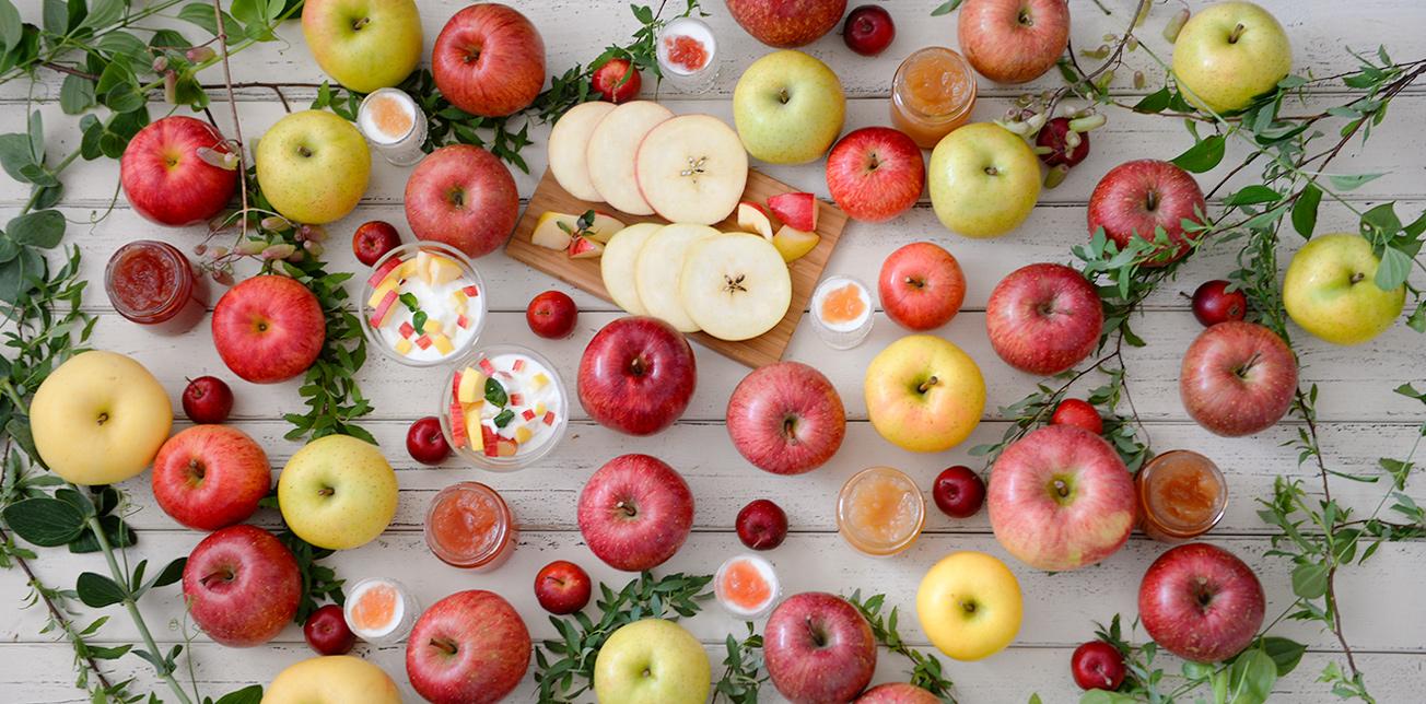りんごは栄養価が高く、健康にも美容にもおススメ