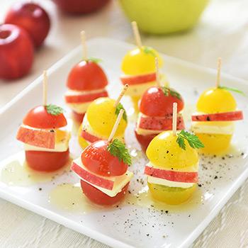 りんごの美容レシピ ピンチョス
