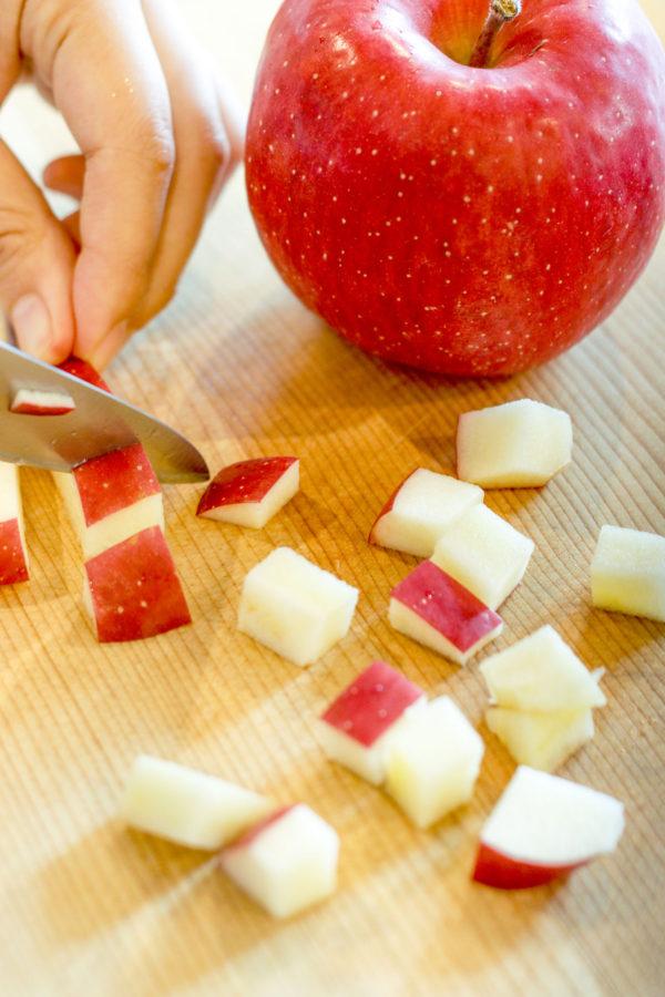 りんごの料理 りんごのヨーグルトアイスキャンディー 1