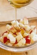 りんごの料理 りんごとはちみつの栗きんとん1