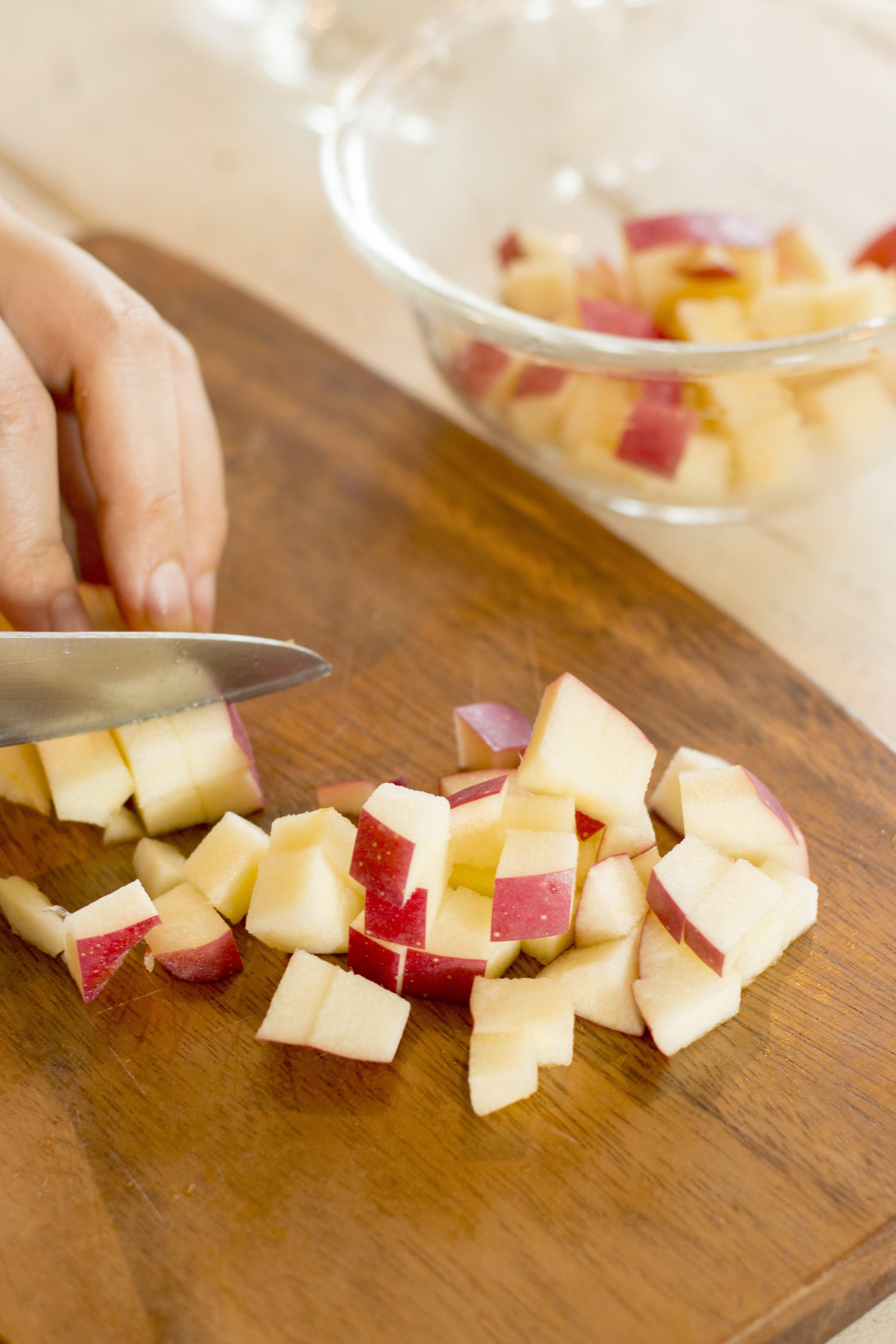 りんごの料理 りんごのガトーショコラ1