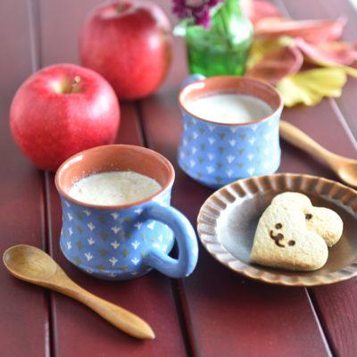 りんごのレシピ はちみつりんごみるく