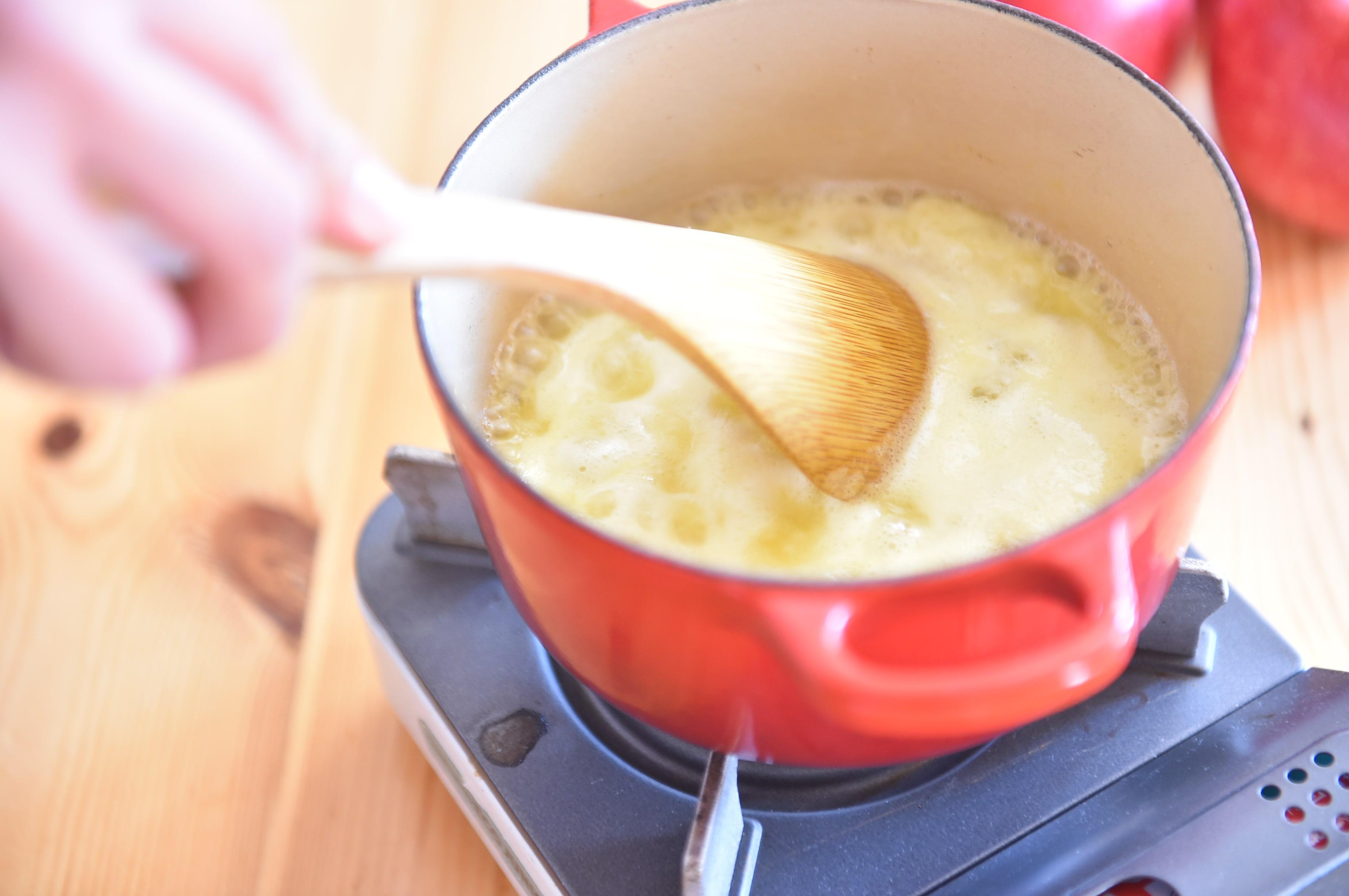 りんごの料理 りんごのバタークリーム2