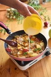 りんごの料理 りんごの黒酢で酢豚4