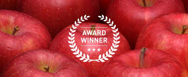 りんごの各種表彰受賞者