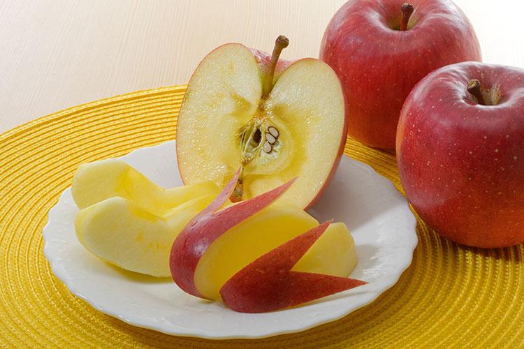 食育とりんご