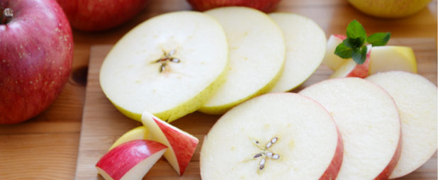 りんごは皮ごと食べて美味しく栄養を摂取!