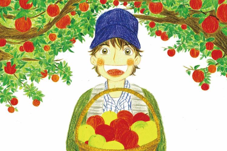 青森りんごができるまで(幼稚園・小学校低学年向け)