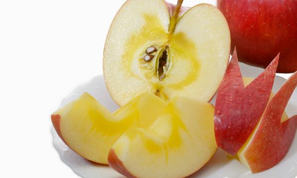 プロシアニジンが高い抗酸化力でりんごの果肉を保護