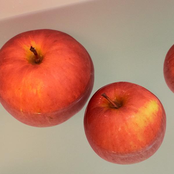 りんご風呂で