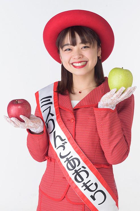 第19代ミスりんごあおもり 中澤茉利乃(なかざわまりの)