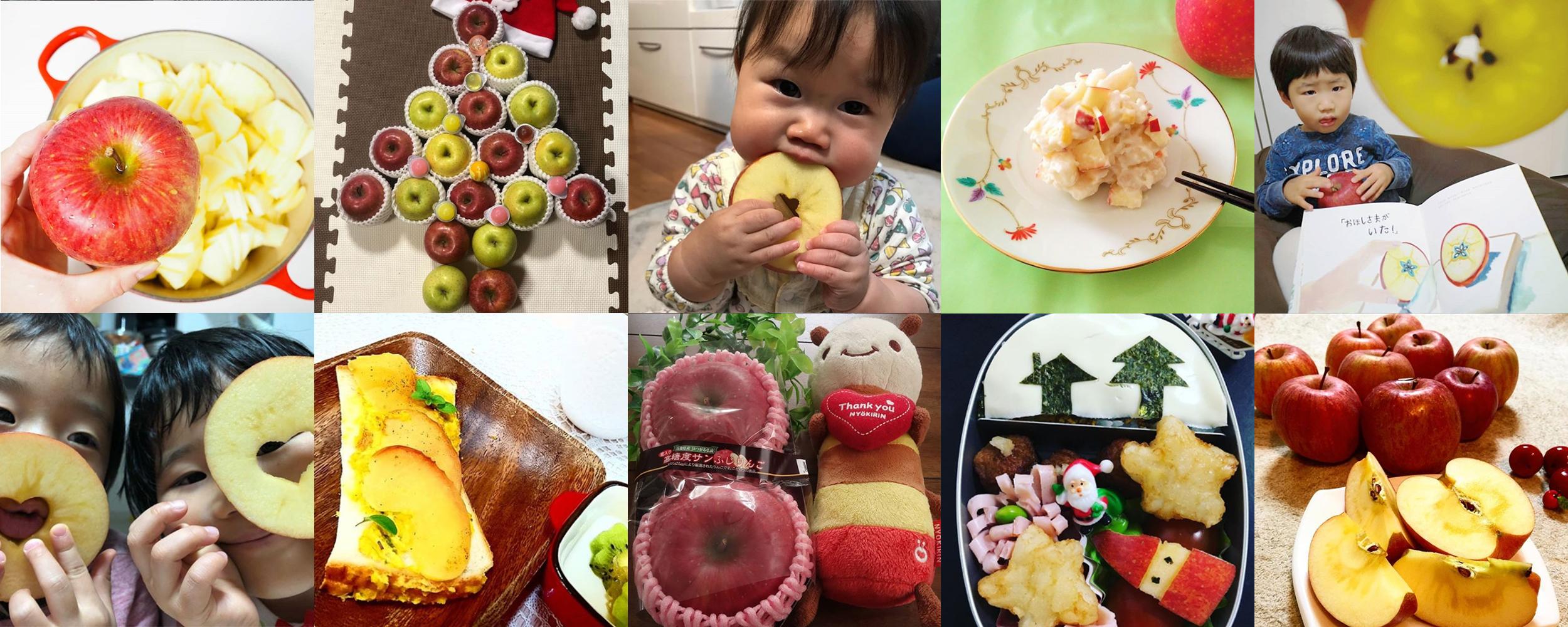 私の美活は食べるだけ青森りんごキャンペーン12月結果