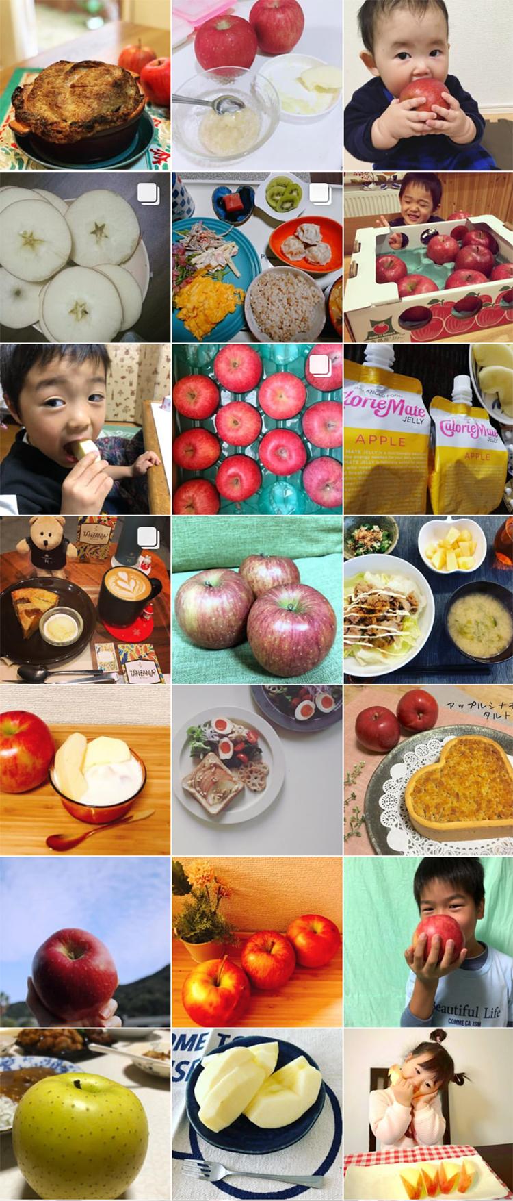 私の美活は食べるだけ青森りんごキャンペーン1月 投稿写真