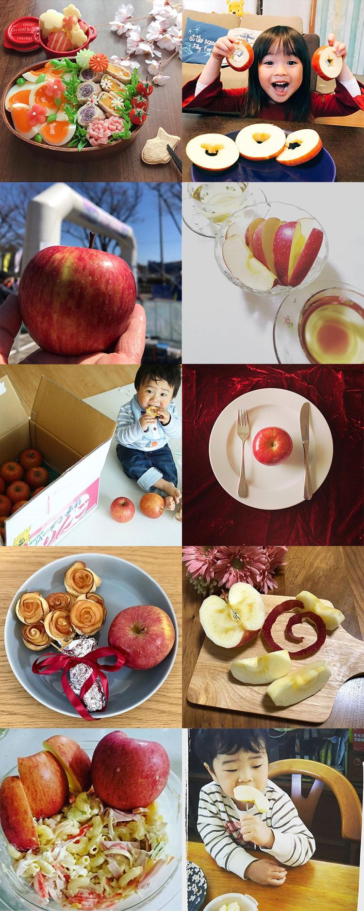 私の美活は食べるだけ青森りんごキャンペーン3月結果