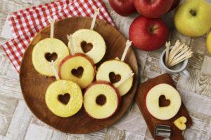 スターカットのりんご飴