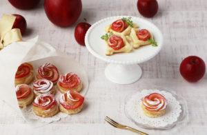 りんご薔薇パイ