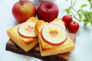 アップルハムチーズトースト