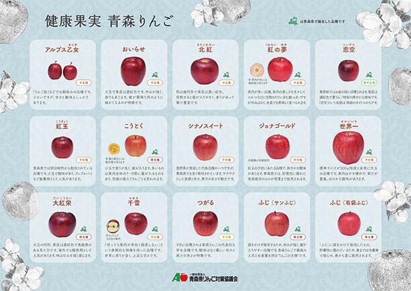 りんご下敷き