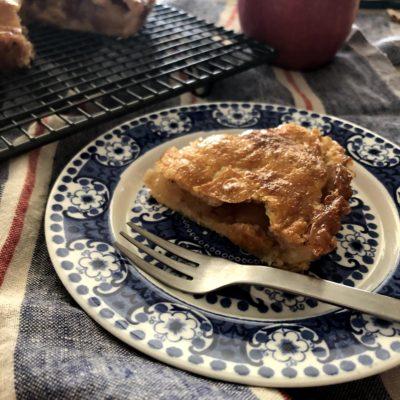 生の「サンふじ」ぎっしり!アメリカ系のおおらかなアップルパイ